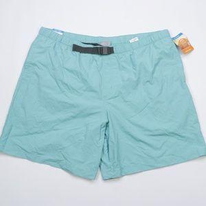 New Columbia Mens 2XL Flatwater Hiking Shorts Blue
